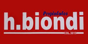 H. Biondi Propiedades