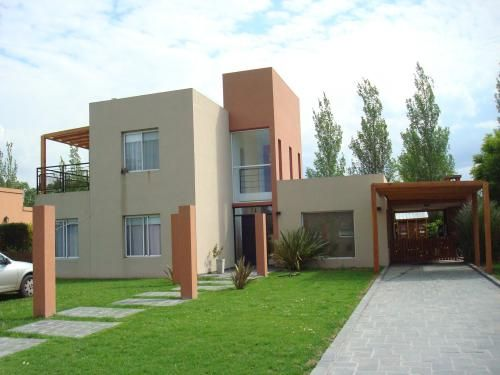 casa minimalista de 4 ambientes desarrollada en dos
